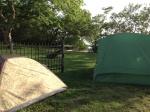 tents close